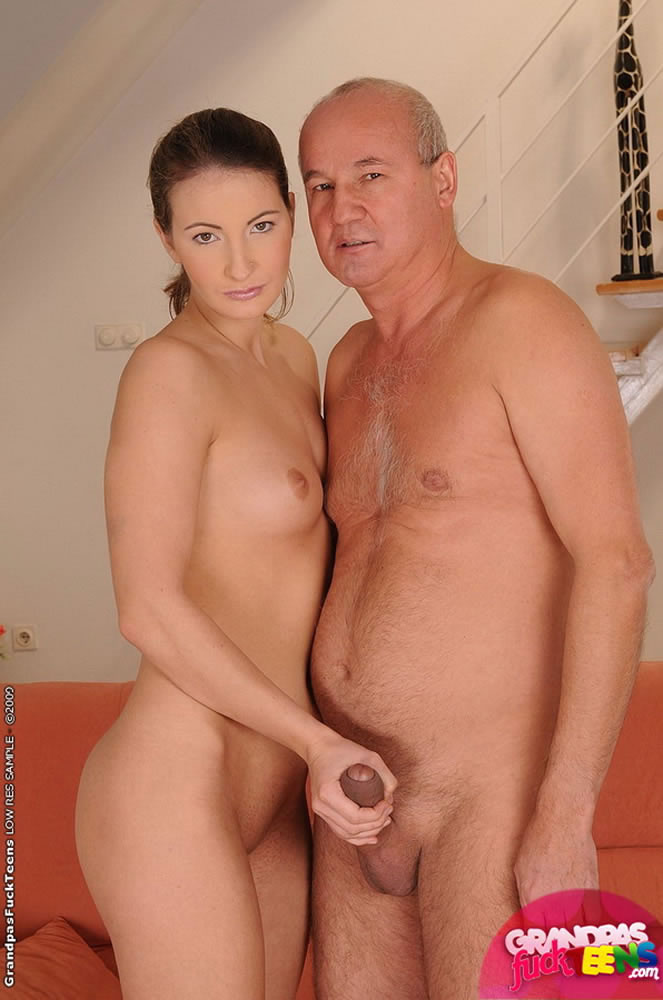 Young Girl Old Cock